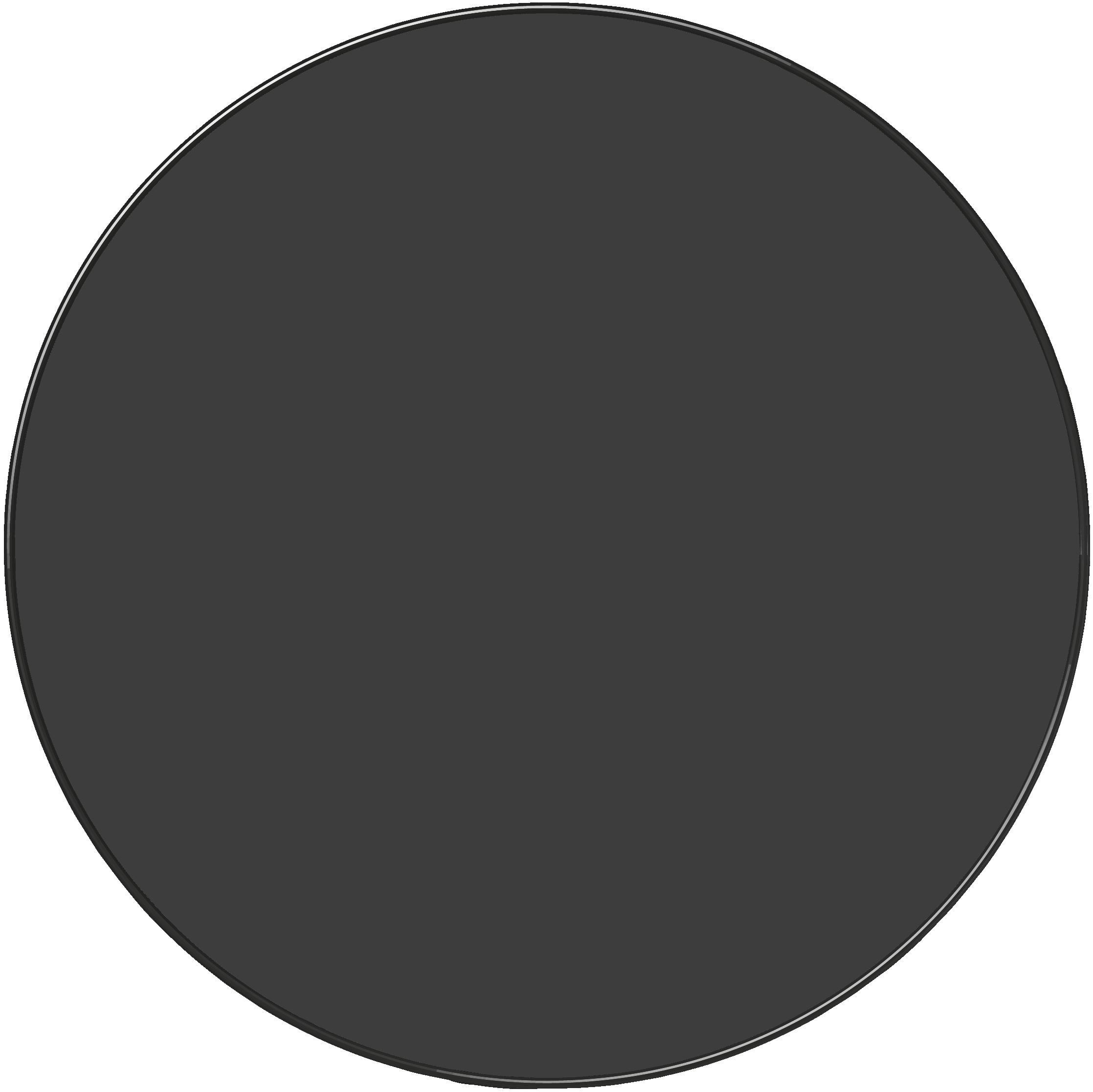 Plat rond 32 cm - MONOCHROMANIA