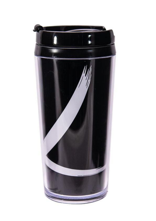 Mug isotherme double paroi plastique 40 cl - brushstroke