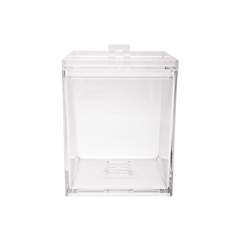 MEEME - Boîte rangement empilable M 1,4L - transparent