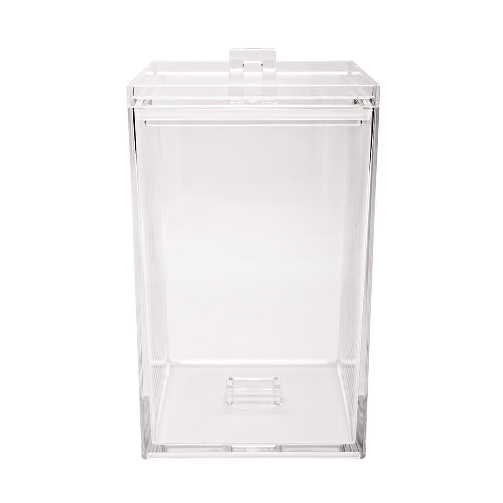 MEEME - Boîte rangement empilable L 2,4L - transparent
