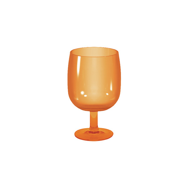 STACKY - Verre à pied empilable 25 cl - corail