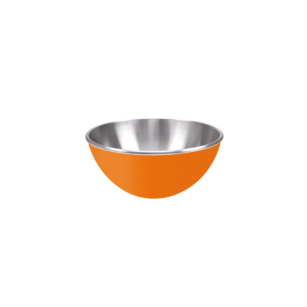 GEMINI - Saladier inox double paroi 16 cm - orange