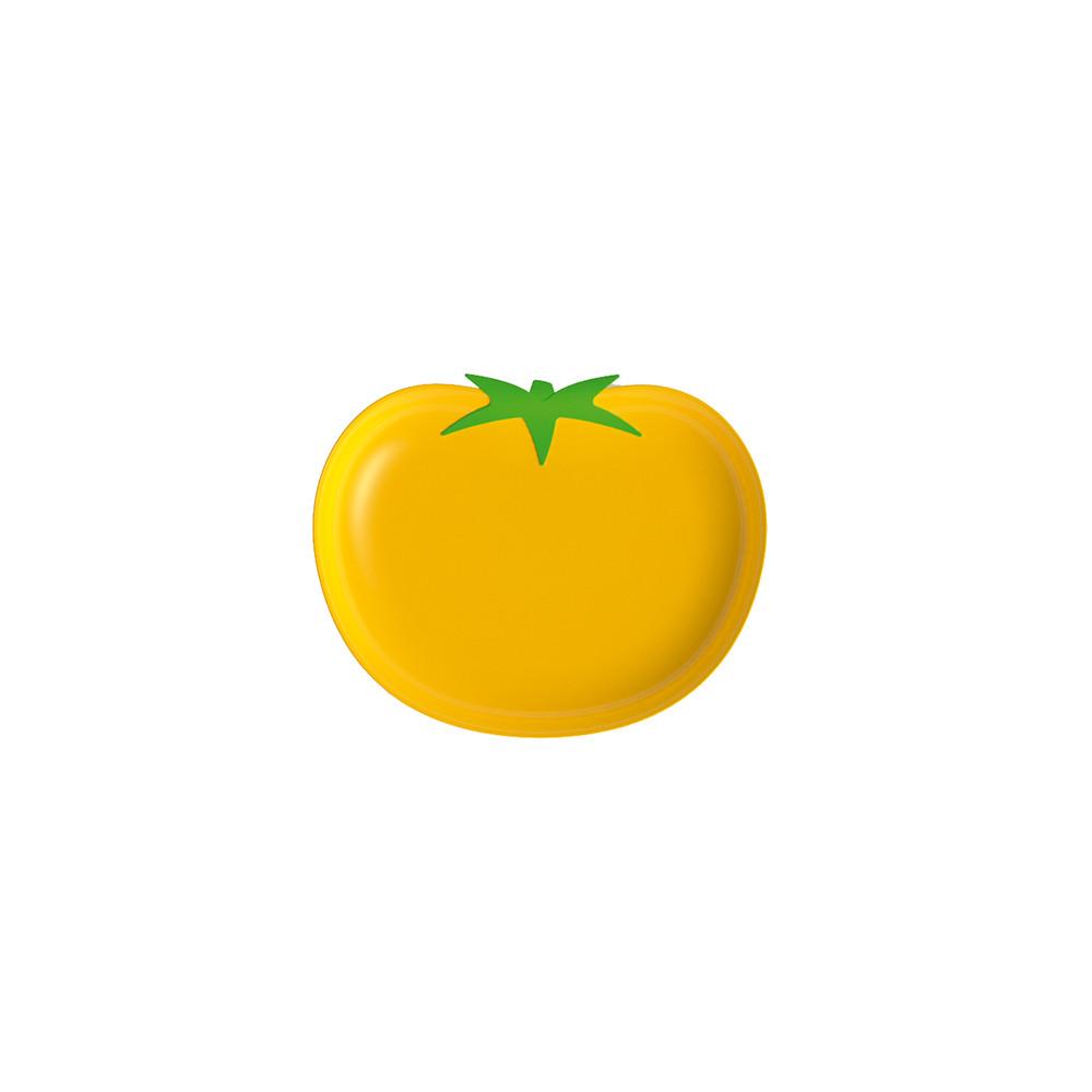 KITCHEN GARDEN - Assiette tomate - jaune