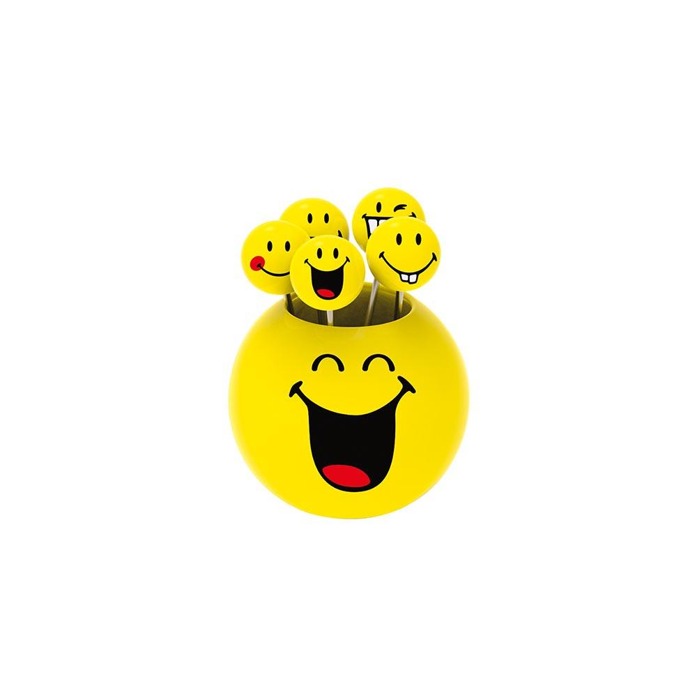 SMILEY - Set de piques apéritif