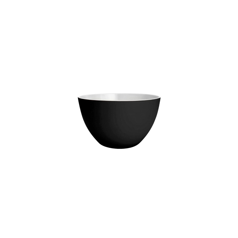 DUO - Bol bicolore 10 cm - noir/blanc