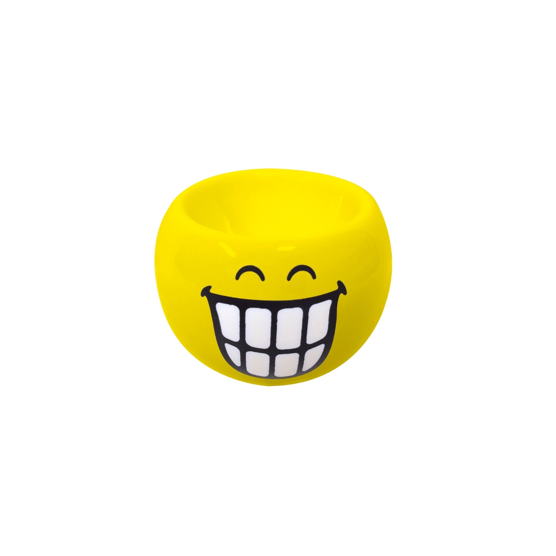 SMILEY - Coquetier rond 6cm - émoticône souriant