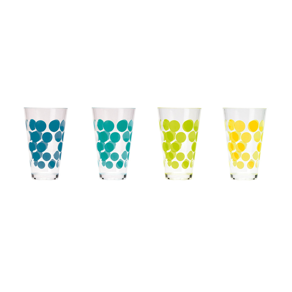 DOT DOT - Set de 4 verres - ice cool