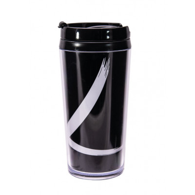 MONO - Mug isotherme double paroi plastique 40 cl - brushstroke