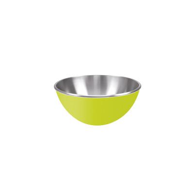 GEMINI - Saladier inox double paroi 16 cm - vert