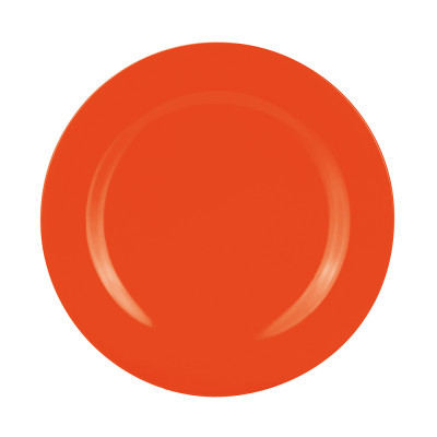 BBQ - Assiette plate 28 cm - corail