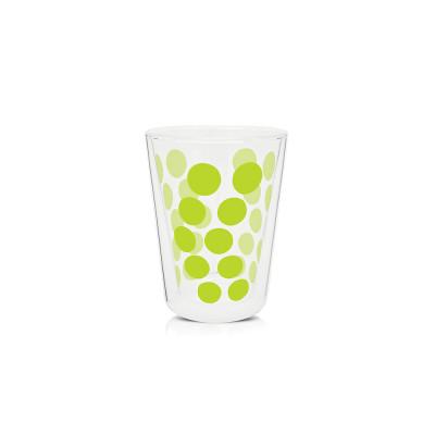 DOT DOT - Verre à thé double paroi 35 cl - vert