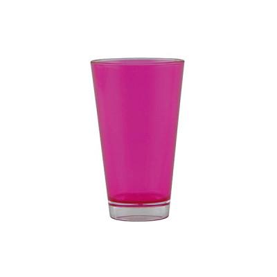 TEINTE-  Verre teinté double paroi 30 cl - fuchsia