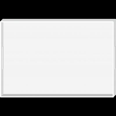 MONO - Plateau 48x31 cm - Blanc