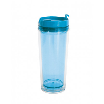 Gob'chaud translucide 20cl - bleu aqua