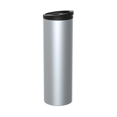 ON-THE-GO - Mug isotherme inox double paroi métallisé 45 cl
