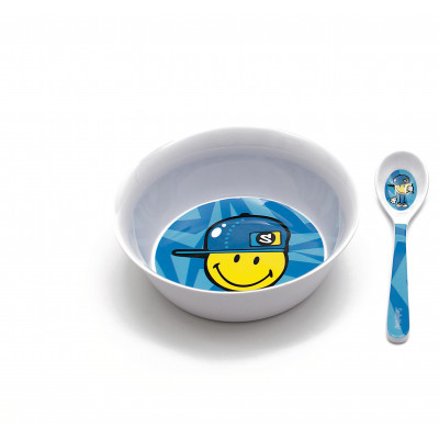 SMILEY KID - Set petit déjeuner