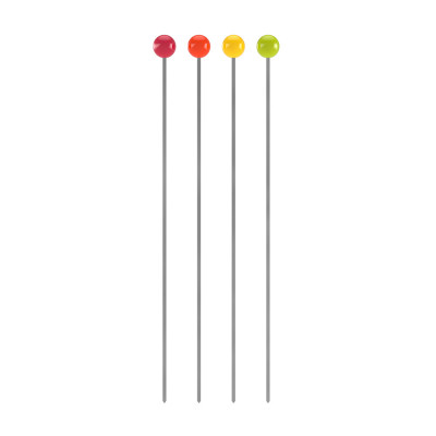 BBQ - Set de 4 piques à brochettes L - hot pop